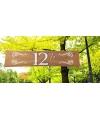 12,5 jaar decoratie banner 180 x 40 cm