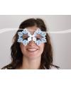 Apres ski party bril sneeuwvlok