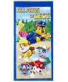 Kinder handdoek Paw Patrol all paws on deck