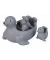 Drijvende zeehondjes bad speelgoed
