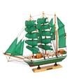 Decoratie miniatuur zeilschip