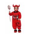 Halloween outfit voor kinderen duiveltje