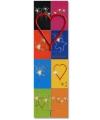 Gebak decoratie sterretje hart