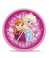 Roze kinderkamer klok Frozen