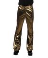 Gouden disco broek  heren jaren 70