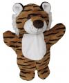 Pluche tijger knuffeldiertjes 27 cm