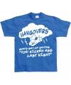 Blauw Hangovers t-shirt