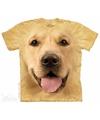 Honden T-shirt Golden Retriever voor kinderen