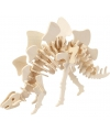 Houten bouwpakket Stegosaurus 3D met app