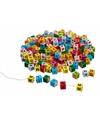 Houten steentjes gekleurd 325 stuks