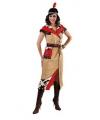 Pocahontas kostuum voor dames