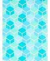 Geschenkpapier gekleurd grafisch 70 x 200 cm