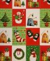Kerst kadoverpakking print 7