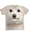 Witte honden shirts Bichon Frise voor kinderen