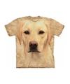 Honden T-shirt blonde Labrador voor kinderen