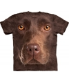 Bruin honden T-shirt Labrador voor kinderen