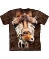 T-shirt voor kids met de afdruk van een giraf