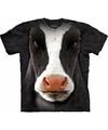 Boerderij T-shirt koe voor kinderen