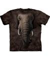 T-shirt voor kinderen met de afdruk van een olifant