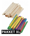 Knutsel pakketten met houtjes XL