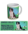 Grote theemok Border Collie
