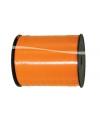 Oranje decoratie lint