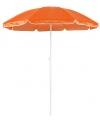 Oranje strand parasol