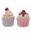 Peper en zout stelletje cupcakes