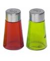Peper en zout strooiers setje groen/rood