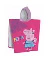 Peppa Pig badcape voor kinderen