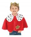 Peuter koning verkleed ponchos