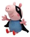 Pluche Peppa Pig knuffel George held