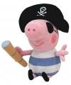 Pluche Ty Beanie Peppa knuffel George piraat