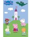 Decoratie poster Peppa Pig 61 x 91,5 cm