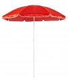 Rode strand parasol