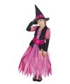 Halloween - Roze heksen kostuum voor meisjes