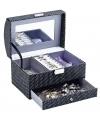 Kistje met spiegel voor sieraden 21 cm