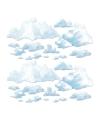 Wolken scenesetter decoratie 24-delig