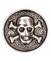 Drukknoop met doodshoofd 1,8 cm