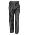 Regenkleding zwarte broek voor kinderen